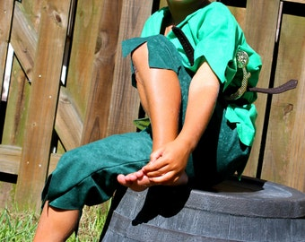 Peter pan or Robin hood  Children s Costume  Halloween sizes through 8 years old