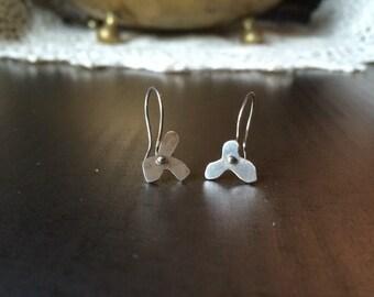 Poppy Earrings - Silver