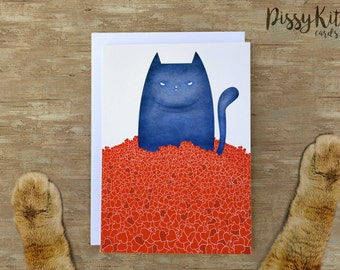 I Tolerate You - Pissy Kitty Card