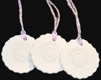 Ceramic Gift Tag or Ornament No5