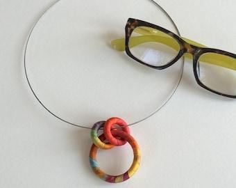 Eyeglasses Holder Necklace Poppy