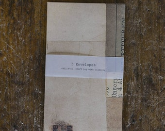 Classiky Collage Envelope