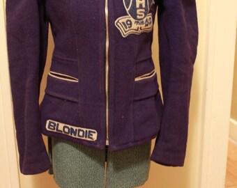 Vintage 1940s Woman's High School Jacket