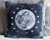 Lunar Tides Pillow Cover