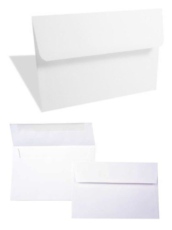 """Bright White A6 Envelopes  