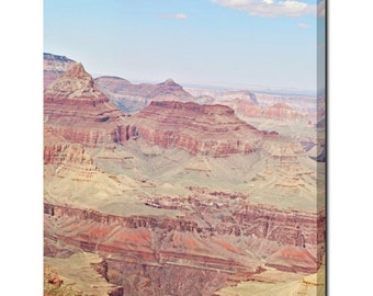 Wall Art Canvas - Large Canvas - Grand Canyon Canvas - Shabby Chic Canvas - S W Decor - Dreamy - Gold Red Canvas - Tranquil - 24 x 30 Canvas