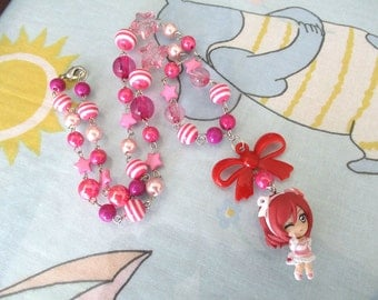 Love Live MAKI NISHIKINO Necklace - School idol Beaded Necklace - LL