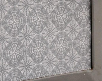 Jeanne d'Arc Living Faded Taupe Geometric Wallpaper Remnant