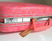 Hot Pink Samsonite Silhouette Hard Suitcase