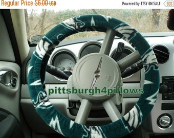 Save 10% Philadelphia Eagles - Fleece Steering Wheel Covers - ( Cars Only )