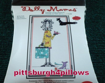 1/2 Price - 4 - Janlynn - Dolly Mamas - Counted Cross Kits - 6 x 10 - Never Opened - 1 Of Each Pattern - See Description