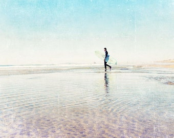 Surfer Art, Surf Decor, Huntington Beach California, Beach House, Surf Room Decor, Surfer Print, Beach Photography, Seashore, Coastal