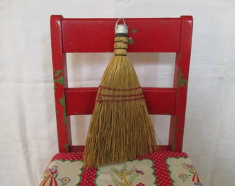 Vintage Wisk Broom Brush - Crumb Brush - Cottage, Farmhouse, Country Kitchen