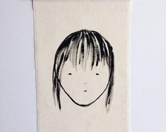 Girl No 2 wall hanging
