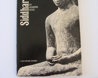 SIDDHARTHA Sixties Edition Paperback  Herman HesseNew Directions