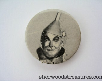 Wizard of Oz Tin Man Vintage Sixties  Celebrity Button Badge Sandyval New York