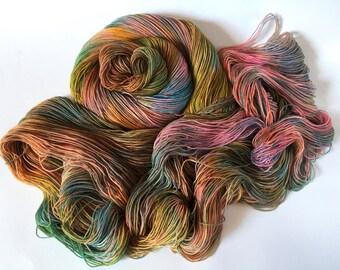 Sea Spiral Sock Yarn. Gaia