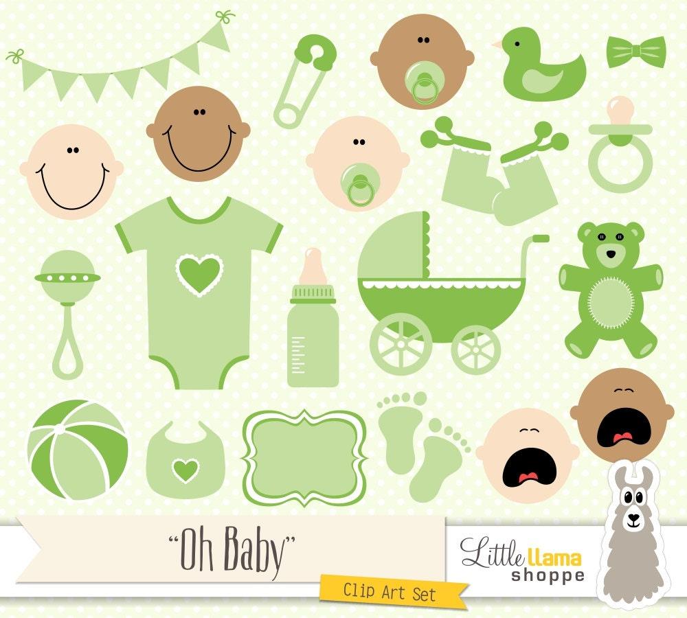 Gender Neutral Baby Shower Clip Art Free