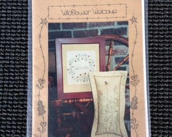 Wildflower Welcome Stitchery Embroidery Pattern Waltzing With Bears