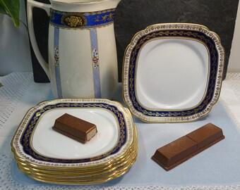 Vintage Chapmans Plates Set of Six