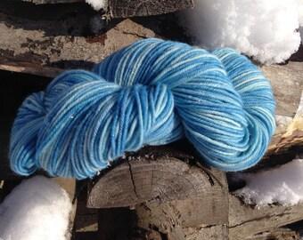 Frost Cabin DK 75/20/5% Merino/Silk/Stellina Hand Dyed Yarn 100 gram skein