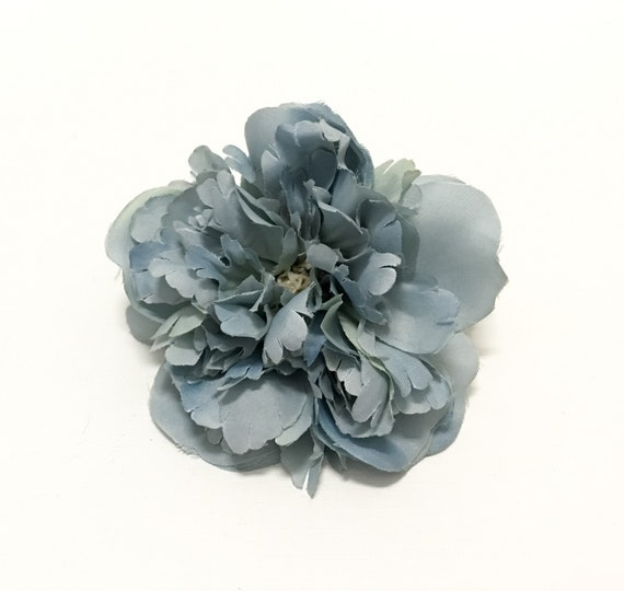 dusty blue peony