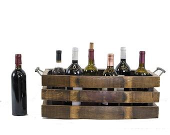 PORTA - Viima - Wine Barrel Stave Bottle Carrier