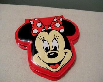 Vintage Minnie Mouse Plastic Wallet