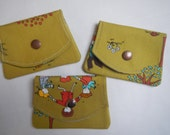Pocket size wallet and change purse