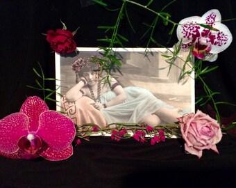Belle Epoque French Postcard - Antique Photo - Walery - Edwardian - Vamp