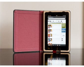 The Fire Keeper for Kindle Fire - Cranberry Red