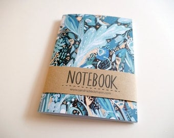 Notebook, Jotter, Mini Sketchbook | Night Shades