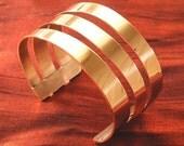 Copper Jewelry Bracelet - Wide Copper Bracelet Cuff BR98