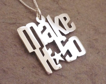Make It So Sterling Silver Pendant on Chain