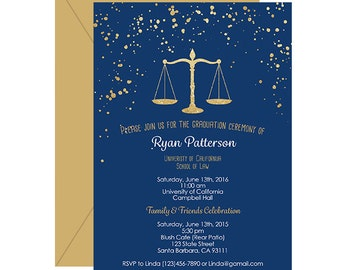 Law School Graduation Invitations and get inspiration to create nice invitation ideas