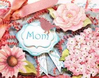 Gorgeous Handcrafted Mother's Day's Card!