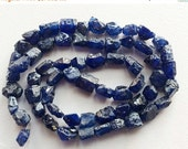55% ON SALE Blue Sapphire Rough Strand, Sapphire Beads, Rough Sapphire Gemstones, Raw Blue Sapphire, Loose Blue Sapphire, 7-10mm Beads, 18 I