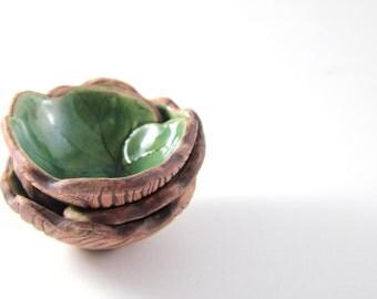 Lily Pad Bowls - Set of 3