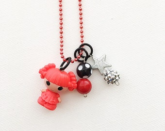 Lalaloopsy Twist E. Twirls Series 3 Charm Necklace