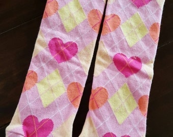 Pink with Hearts and Argy Little Leggs