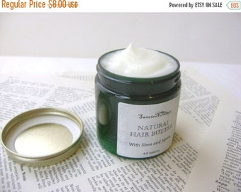Natural Hair Butter, Leave in Conditioner with Shea Butter and Jojoba, Pick Your Scent