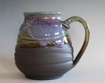 EXTRA LARGE Coffee Mug, 25 oz, handmade ceramic cup, handthrown mug, ceramic stoneware pottery mug unique coffee mug ceramics and pottery