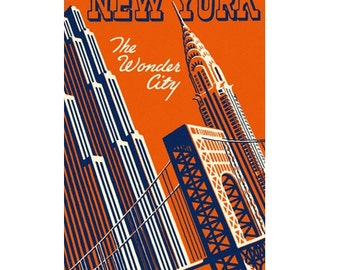 NEW YORK CITY 5- Personalized Leather Journal Cover Moleskine Field Notes Custom