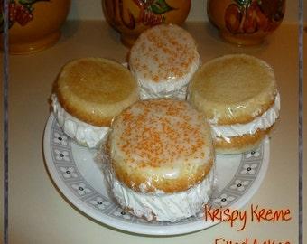 Cream Filled Tea Cakes