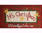 It's Christmas Wall Quilt, 3823-26, Christmas wall hanging