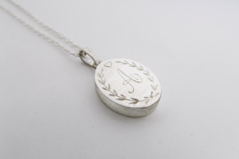 engraved necklace locket necklace locket style necklace. Black Bedroom Furniture Sets. Home Design Ideas