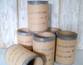 SALE! Vintage Industrial Canister, Shipping Container