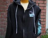 Local motion surfer unisex hoodie sweatshirt