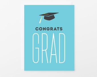 Graduation Card | Congratulations Grad Greeting Card | Graduate