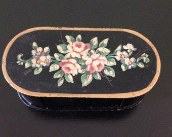 Vintage Small Metal Box